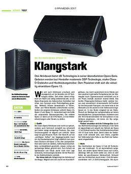 dB Technologies Opera 12: Klangstark