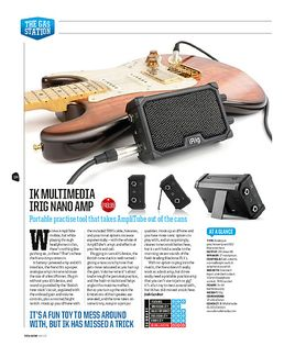 iRig Nano Amp + Amplitube 4