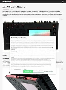 Akai MPC Live Test Preview