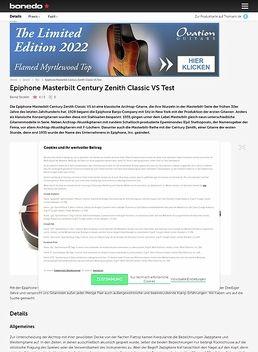 Century Zenith Classic VS