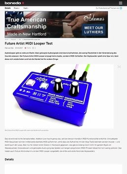 Future Artist MIDI Looper