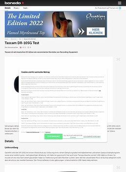 Tascam DR-10SG