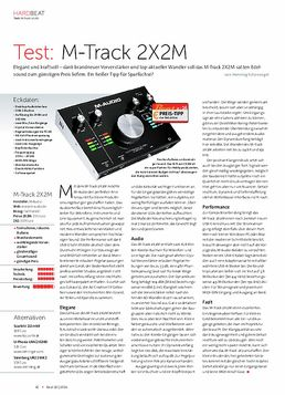 M-Track 2X2M