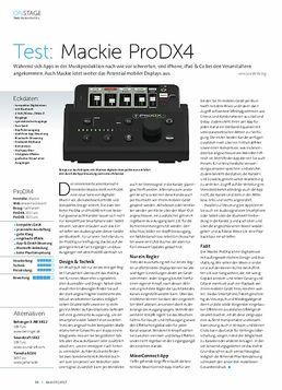 Mackie ProDX4