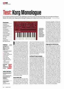 Monologue RD