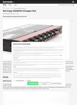 Behringer ADA8200 Ultragain