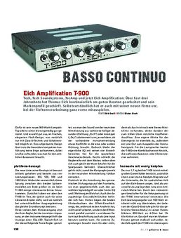 Eich Amplification T-900