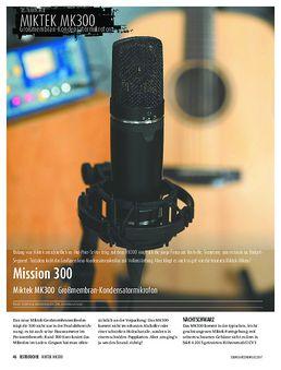 Miktek MK300 - Großmembran-Kondensatormikrofon