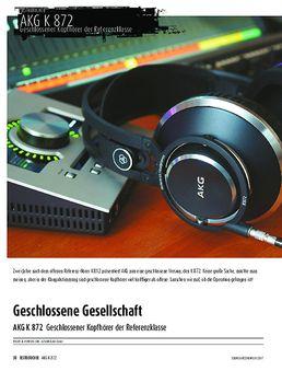 AKG K 872 - Geschlossener Kopfhörer der Referenzklasse