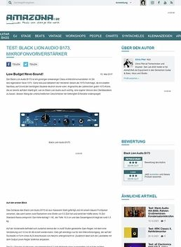 Black Lion Audio B173