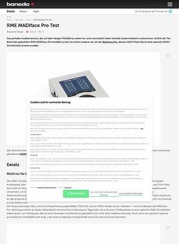 RME MADIface Pro