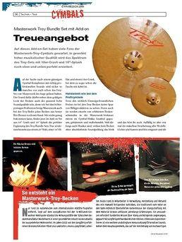 Troy Profi Cymbal Set