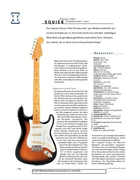 Squier Classic Vibe Stratocaster '50s, E-Gitarre