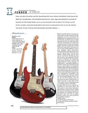 Fender Stratocaster Pickups im Vergleich