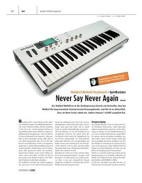 Waldorf Blofeld Keyboard - Synthesizer