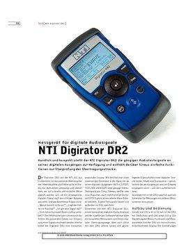 NTI Digirator DR2