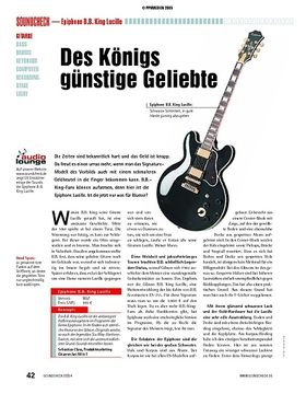 Test: Epiphone B.B. King Lucille