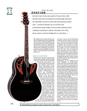 Ovation Elite 2078 LX E/A-Gitarre