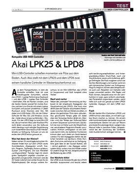 Akai LPK25 & LPD8
