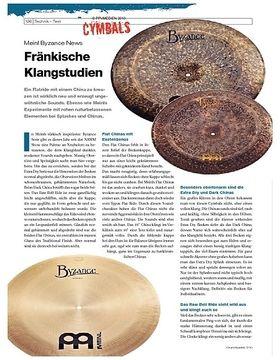 Instrumente & Technik: Meinl Byzance News