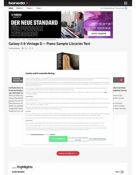 Galaxy II und Vintage D