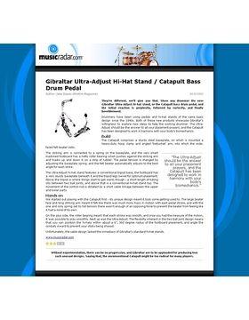 Gibraltar Ultra-Adjust Hi-Hat Stand / Catapult Bass Drum Pedal