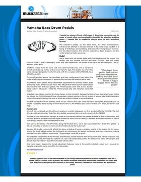 Yamaha Bass Drum Pedals