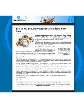 Sabian Alu Bell And Vault  Collection Radia Nano Hats
