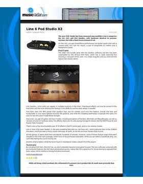 Line 6 Pod Studio X2