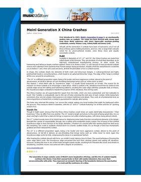 Meinl Generation X China Crashes