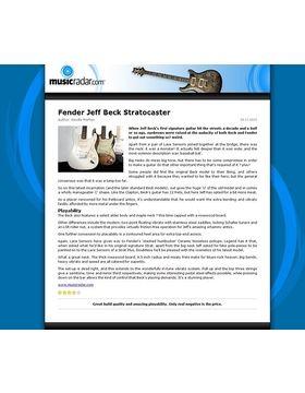 Fender Jeff Beck Stratocaster