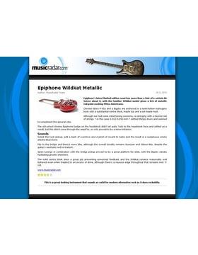 Epiphone Wildkat Metallic