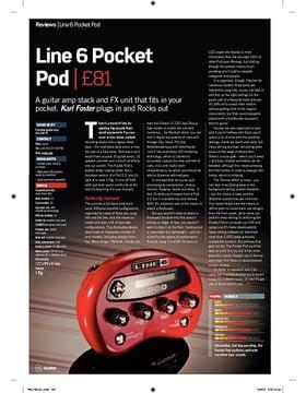 Line 6 Pocket Pod