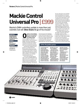 Mackie Control Universal Pro