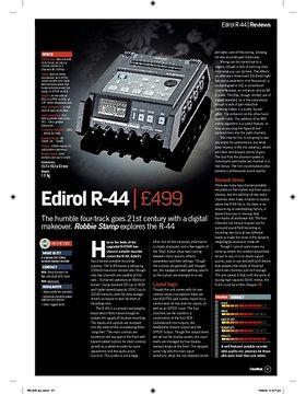 Edirol R44