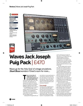 Waves Jack Joseph Puig Pack