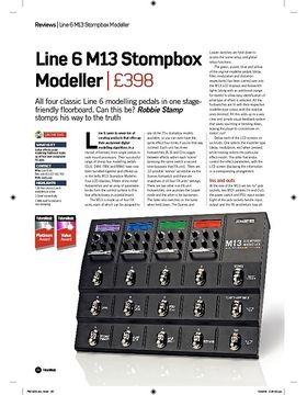 Line 6 M13 Stompbox Modeller