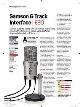 Samson G Track Interface