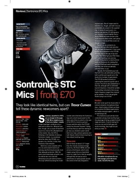 Sontronics STC Mics