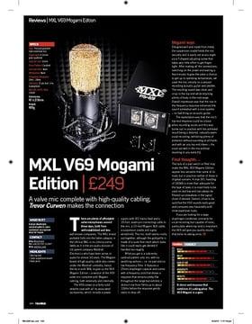 MXL V69 Mogami Edition