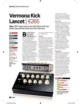 Vermona Kick Lancet