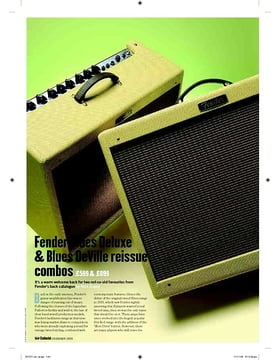 Fender Blues DeVille reissue combo