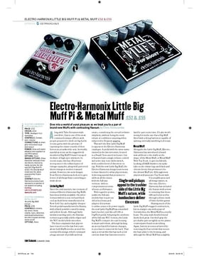ElectroHarmonix Little Big Muff Pi
