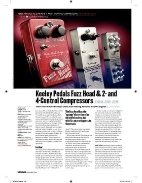 Keeley 2Control Compressor