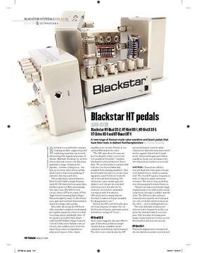 Blackstar HTBoost BT1