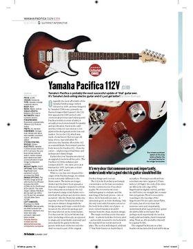 Yamaha Pacifica 112V