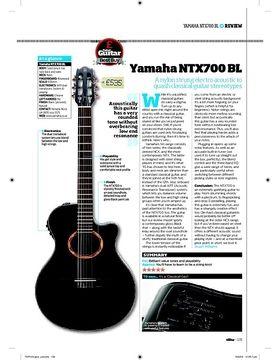 Yamaha NTX700 BL