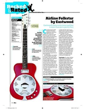 Airline Folkstar by Eastwood