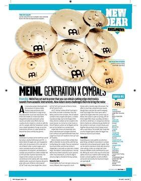 Meinl Generation X Cymbals