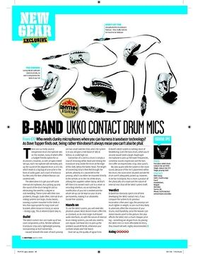 BBAND UKKO CONTACT DRUM MICS